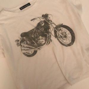 Motorcycle crop top